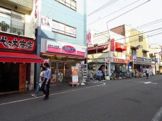 アンクレール初台 初台商店街