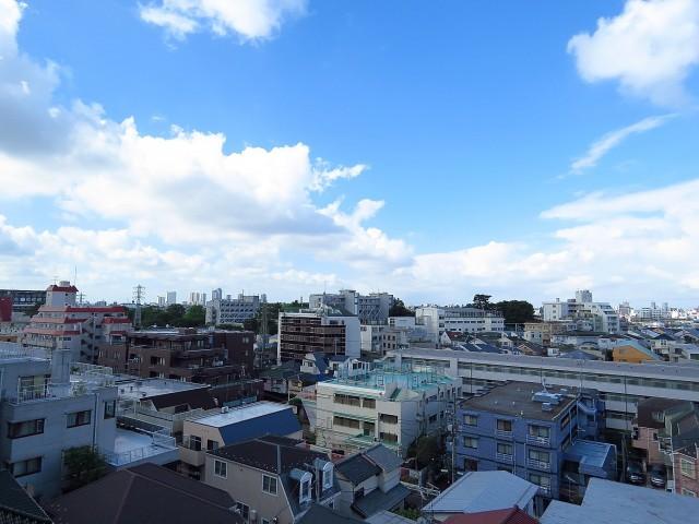 コーポ大岡山 西側眺望