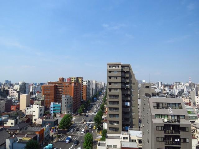 上野ロイヤルハイツ 北側眺望
