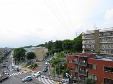 サンライン成城ハイツ 北側バルコニー眺望