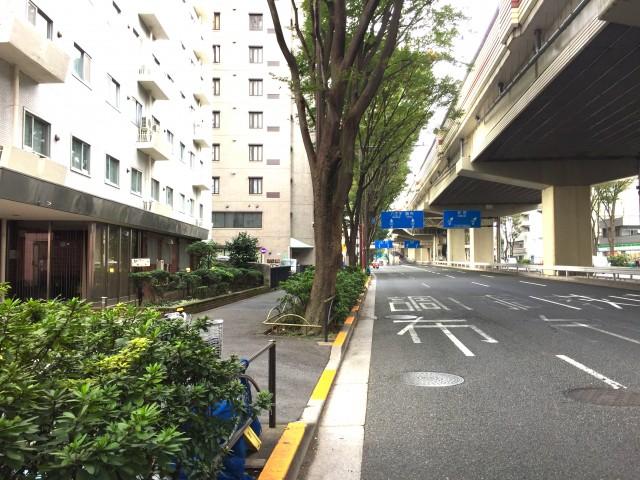 シーアイマンション桜上水 前面道路