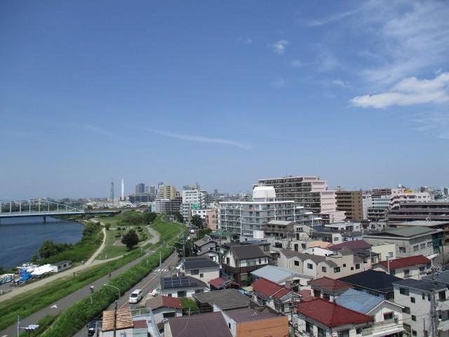 多摩川芙蓉ハイツ 8眺望1