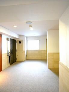 コスモ広尾 絨毯敷きの内廊下