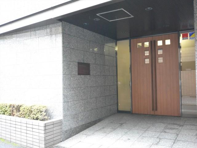 コスモ広尾 エントランス