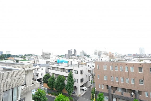 エステージ上野毛 8.0帖洋室眺望