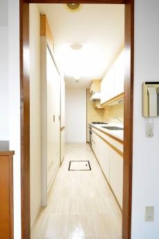 エステージ上野毛 15.7帖LD側キッチン入口