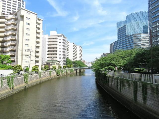 マンション御殿山 目黒川