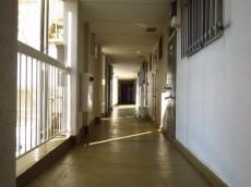 東山コーポラス 共用廊下
