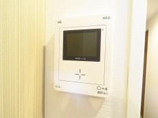 自由ヶ丘第七コーポ TVモニター付きインターホン
