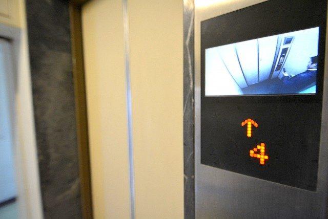 第三宮庭マンション405号室 内廊下