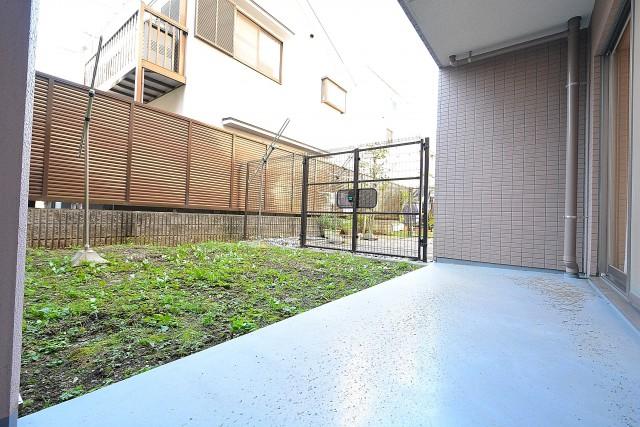 クリオ上北沢 テラスと専用庭