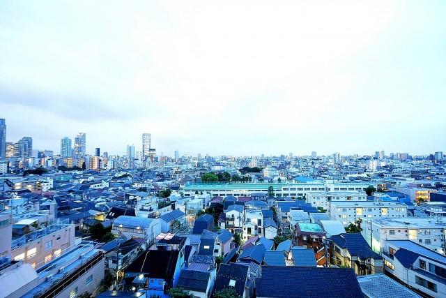 中野永谷マンション 眺望