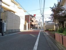 サンビューハイツ哲学堂 前面道路
