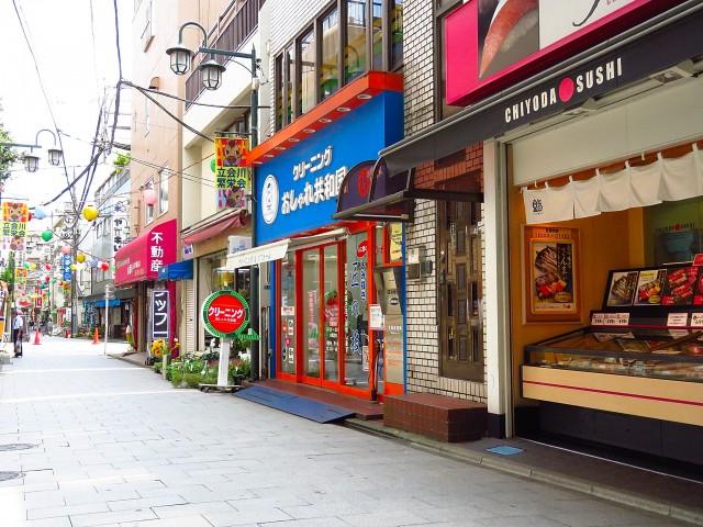 東大井スカイハイツ 商店街