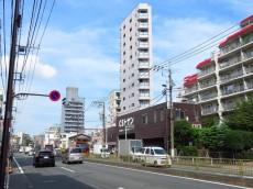 東大井スカイハイツ 前面道路
