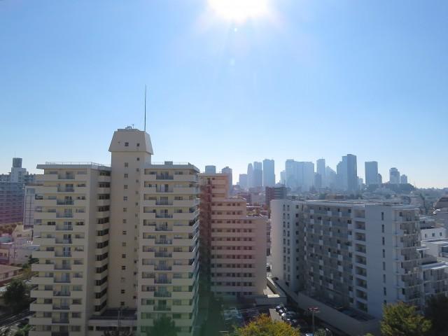 東中野ハイム 眺望