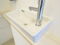 エクセレンス笹塚 トイレ手洗い場