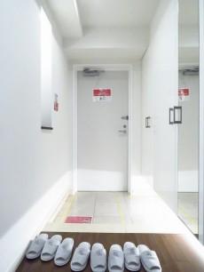 アルシオン芝浦 玄関ホール