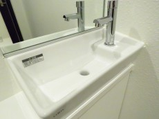 アルシオン芝浦 トイレ手洗い場