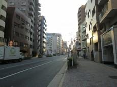 スカーラ西新宿シティプラザ 前面道路