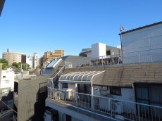 渋谷コーポ 眺望