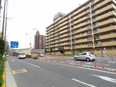 日商岩井碑文谷マンション 前面道路