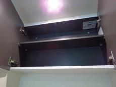 東急ドエルアルス碑文谷 洗濯機置場上の収納