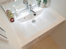 六義園サマリヤマンション 洗面化粧台
