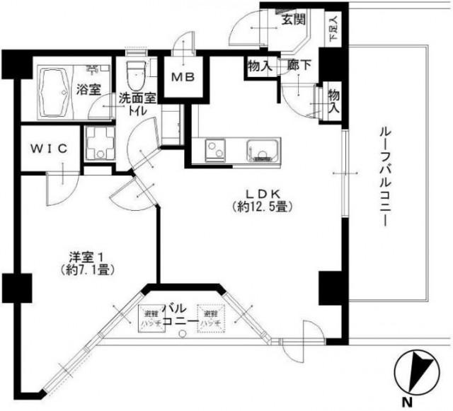 インペリアル赤坂フォラム 間取図