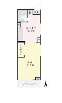 中野永谷マンション 見取り図