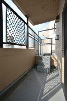 藤和シティホームズ新宿余丁町 (150)6階北西バルコニー