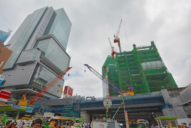 渋谷駅 東口