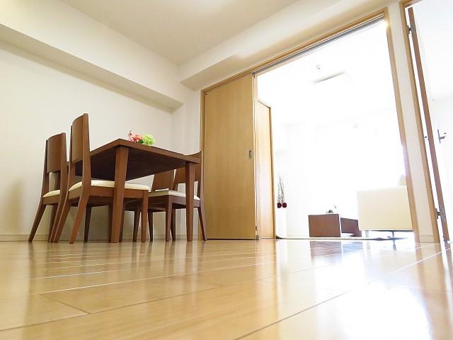 学芸大ハイツ ダイニングキッチン+洋室