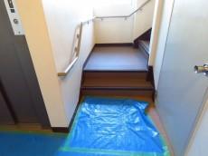 学芸大ハイツ 共用階段