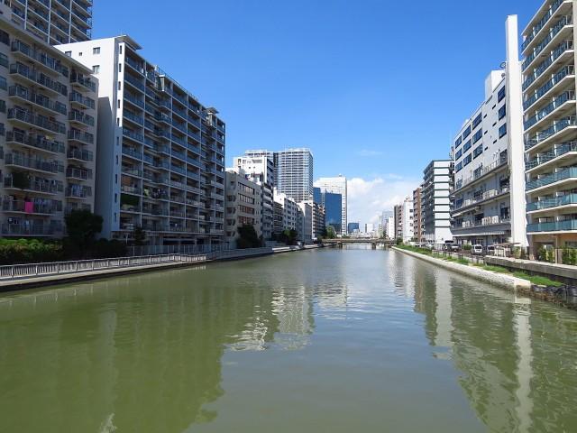ニューハイム田町 運河