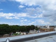 エンゼルハイム馬事公苑 共用廊下からの眺望