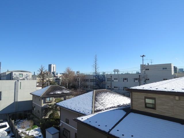 市ヶ谷第3ローヤルコーポ 南側眺望