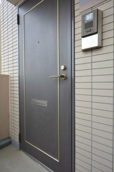 藤和シティホームズ新宿余丁町 玄関