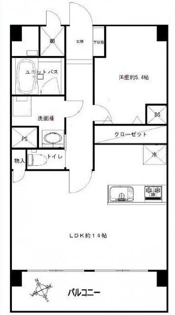 柿の木坂パレス11階