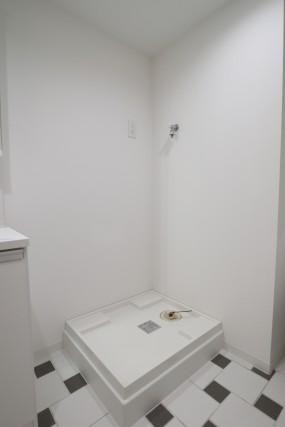 コーヅ白金台 洗濯機スペース