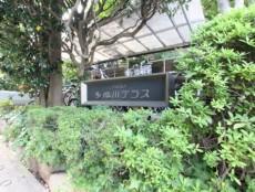 多摩川テラス 館銘板