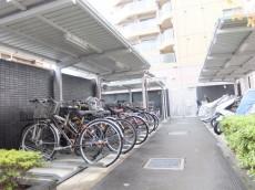 シティハウス東大井 駐輪場
