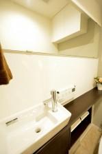 東建第2上町マンション トイレ手洗い水栓