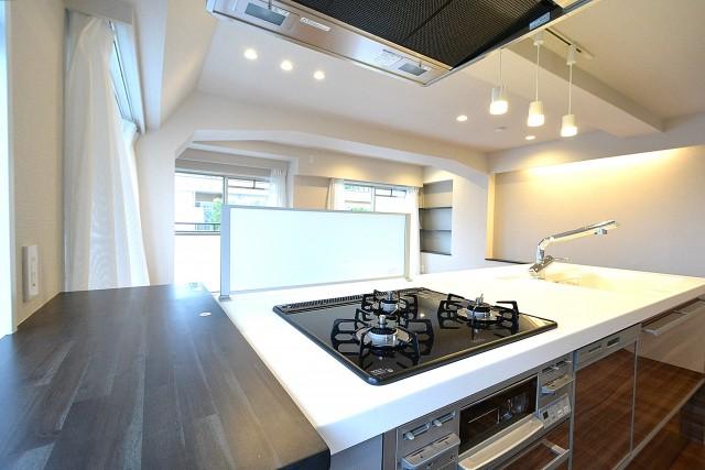 第2桜新町ヒミコマンション オープンキッチン