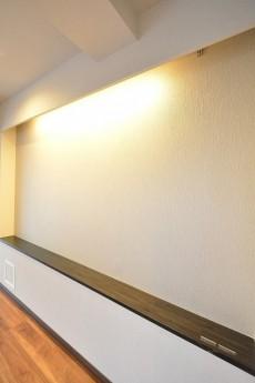 第2桜新町ヒミコマンション LDK棚