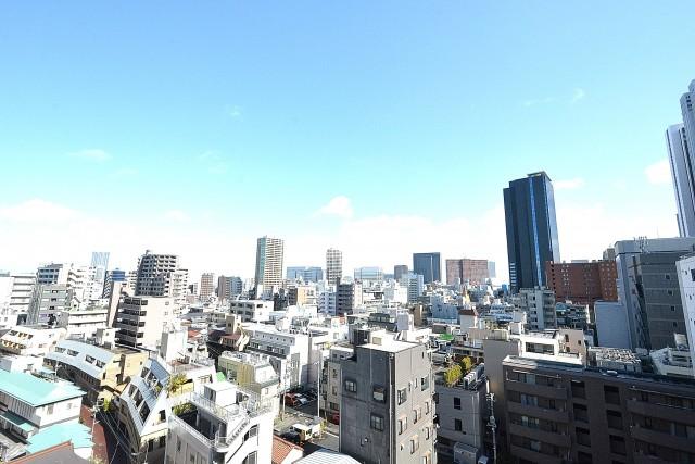 アルテール新宿 バルコニー眺望