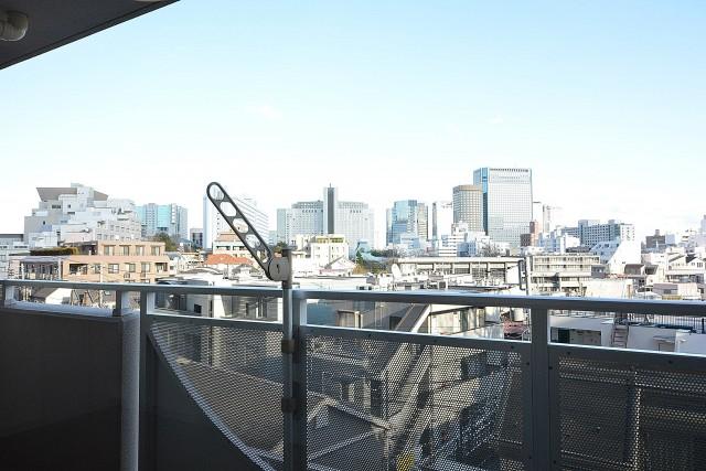 藤和シティホームズ高輪台 バルコニー眺望
