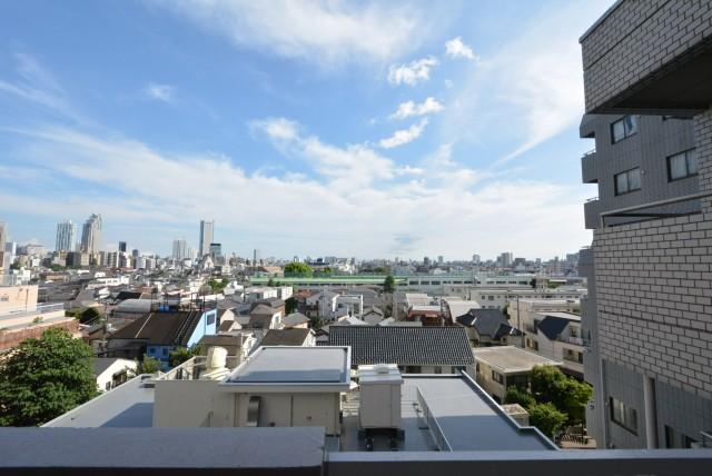 中野永谷マンション 風景