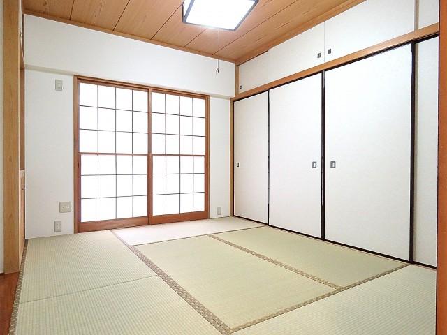 日商岩井大岡山第2マンション 和室