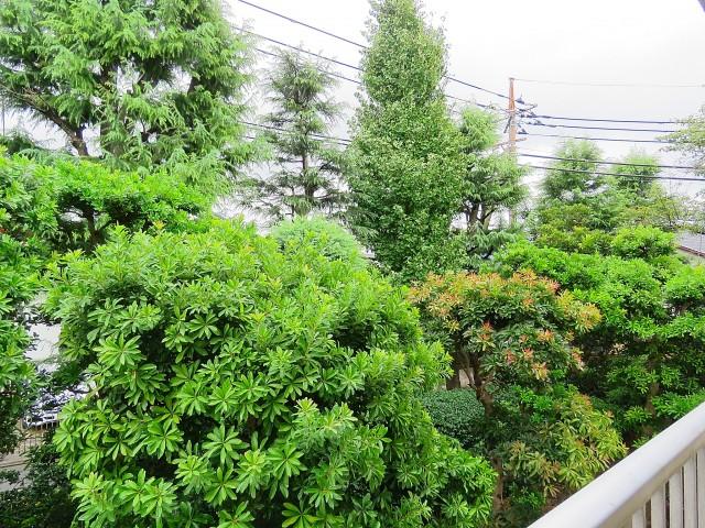 日商岩井大岡山第2マンション 東側眺望